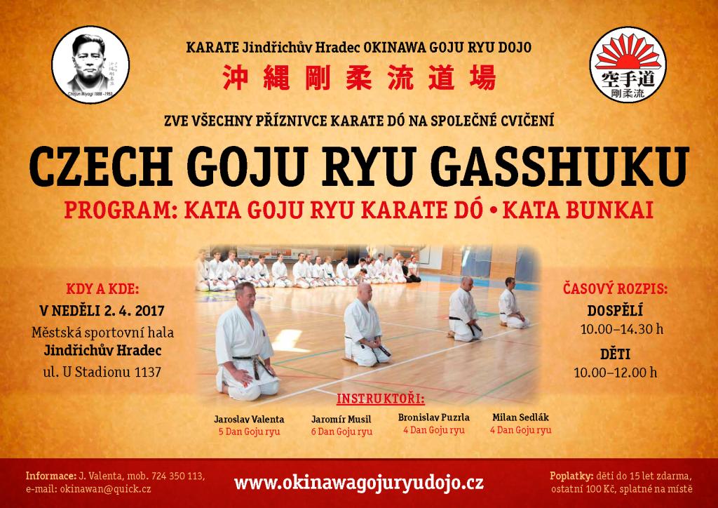 Czech Goju-Ryu Gasshuku J. Hradec