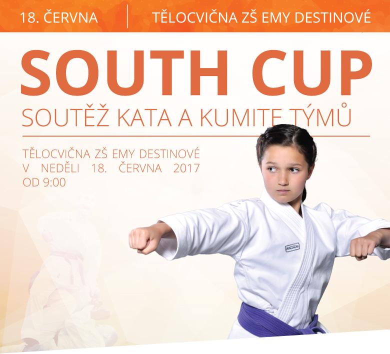 SOUTH CUP | SOUTĚŽ KATA A KUMITE TÝMŮ